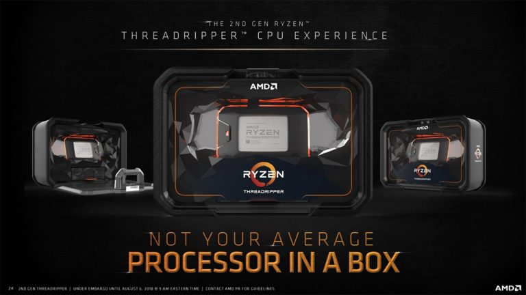 AMD has opened pre-orders for 32-core processors, RyzenThreadripper 2990WX