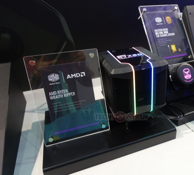 Wraith Ripper is able to accelerate the new AMD processors to 4 GHz