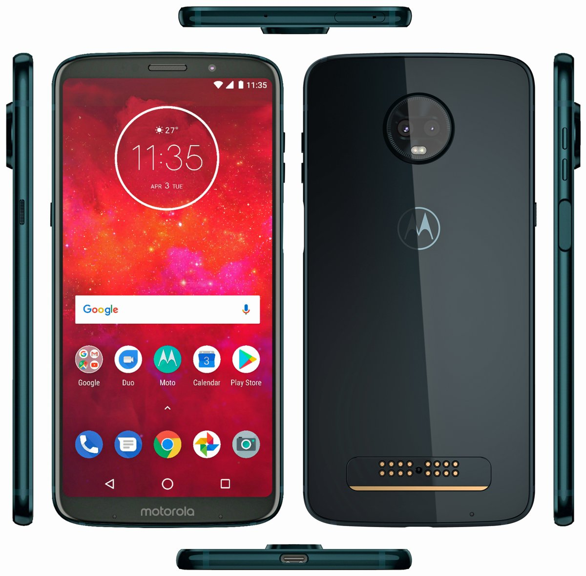 The first smartphone with support for 5G networks is announced