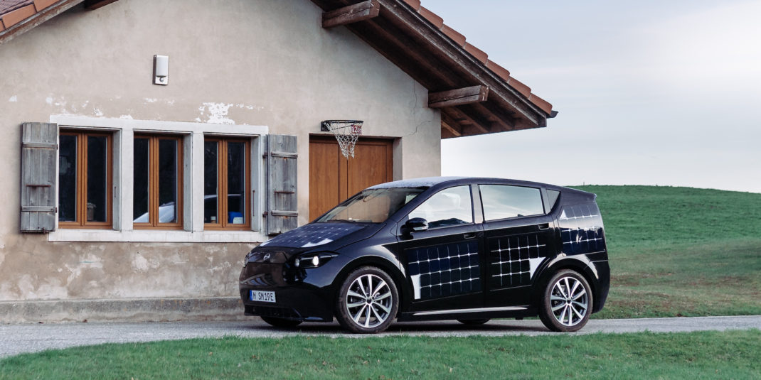 Sion of SonoMotors is charged not only from electricity networks