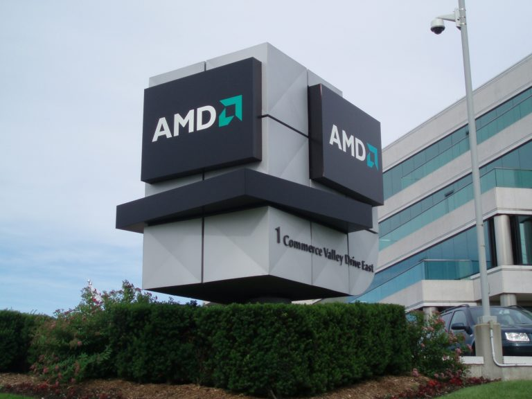 AMD reported revenue growth from Ryzen processors