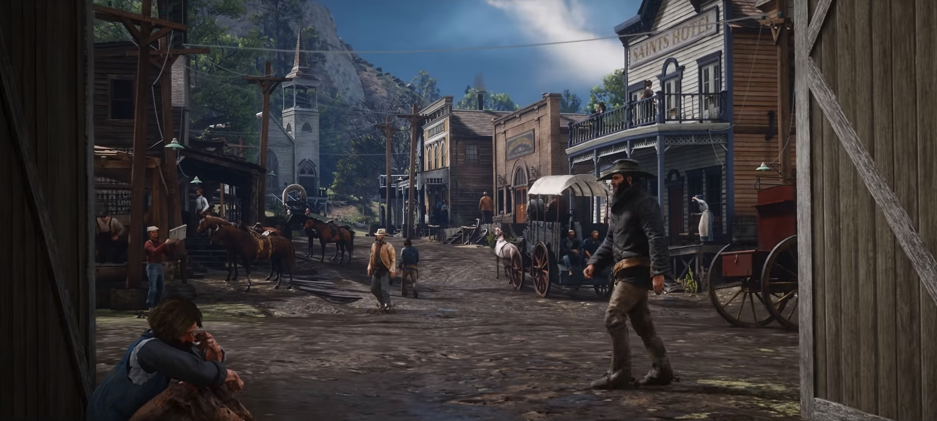 Rockstar revealed a gameplay trailer of Second Red Dead Redemption