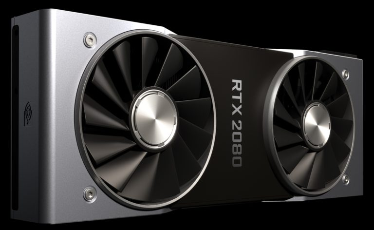 The first leak tests of the new Nvidia graphics cards