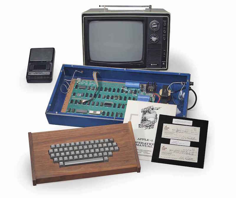 Apple 1 was sold for $ 375,000