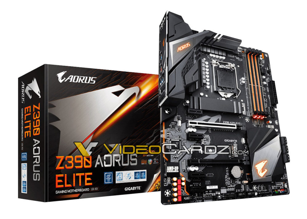 Gigabyte is preparing a budget model of the motherboard on a set of system logic Z390