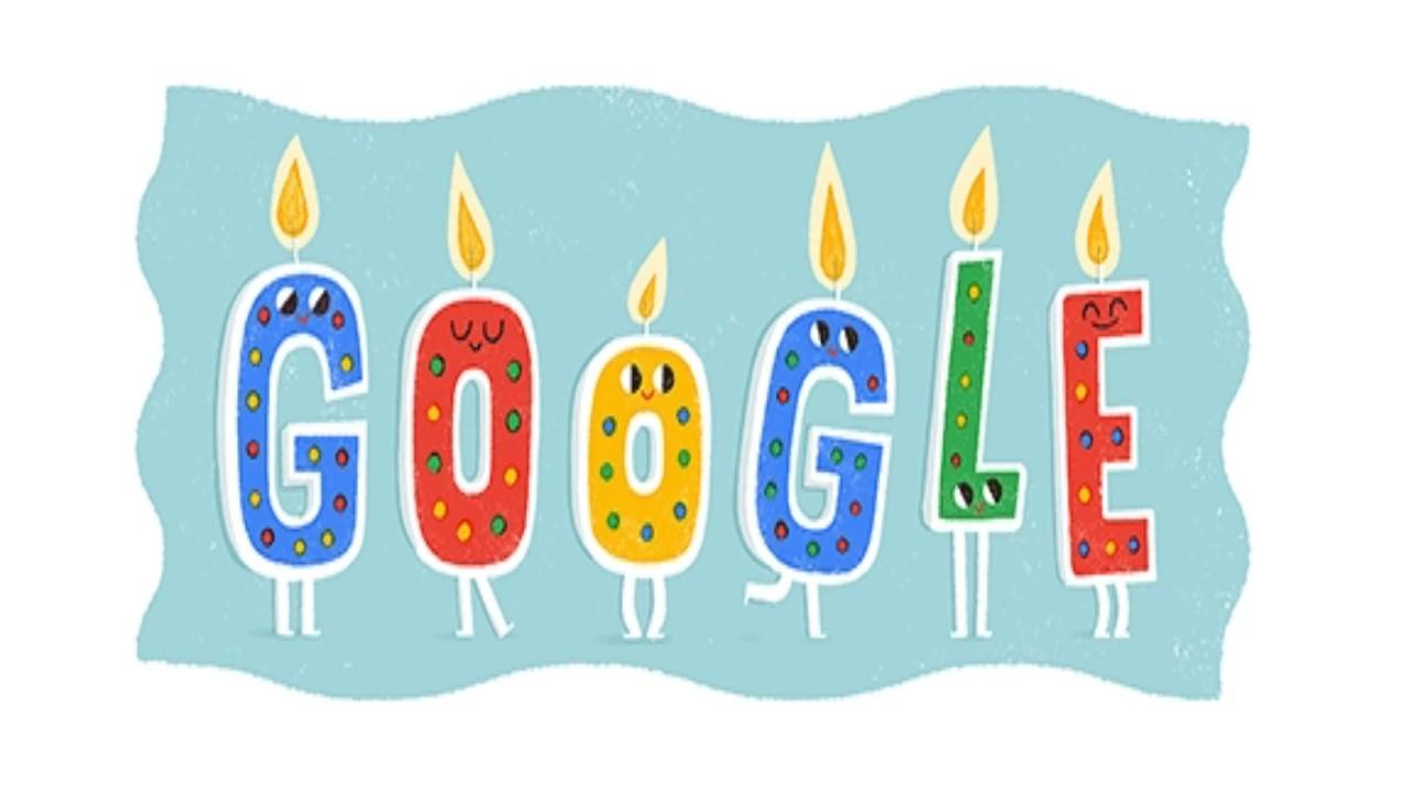 Google celebrated its 20th anniversary