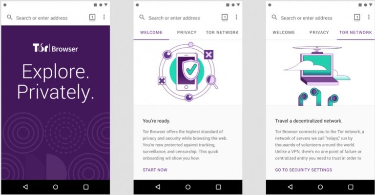 Tor Browser got to Android