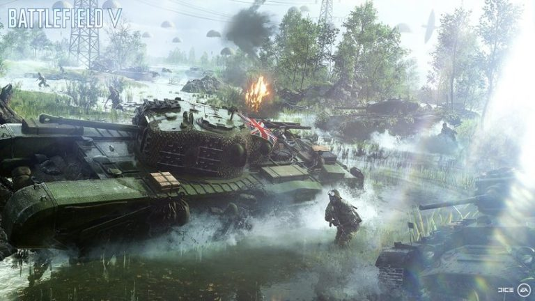 EA presented a development plan for Battlefield V