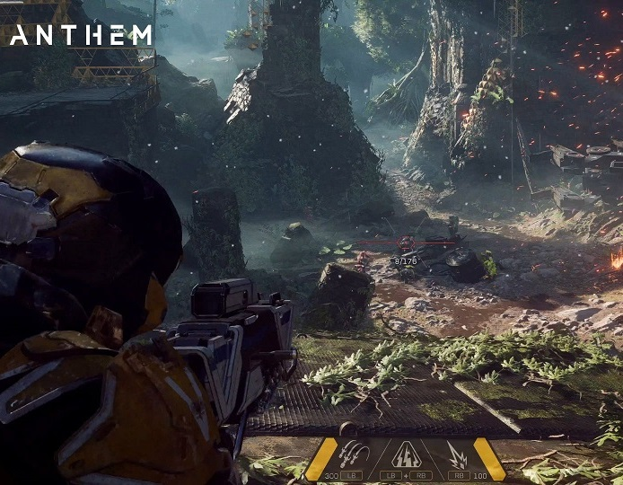 20 minutes of playing video in Anthem