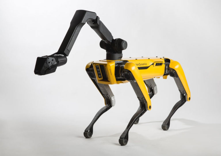 Dancing robot from Boston Dynamics
