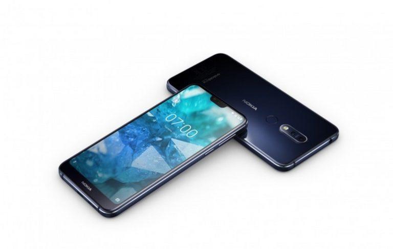 The new smartphone Nokia 7.1