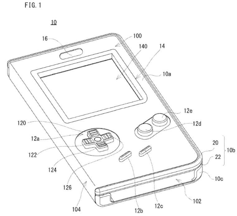 Nintendo patents a case that turns a smartphone into a GameBoy