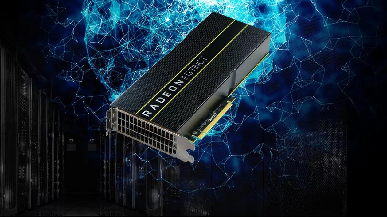 AMD is planning a massive shipment of Radeon Instinct (Vega, 7-nm) graphics cards this year.