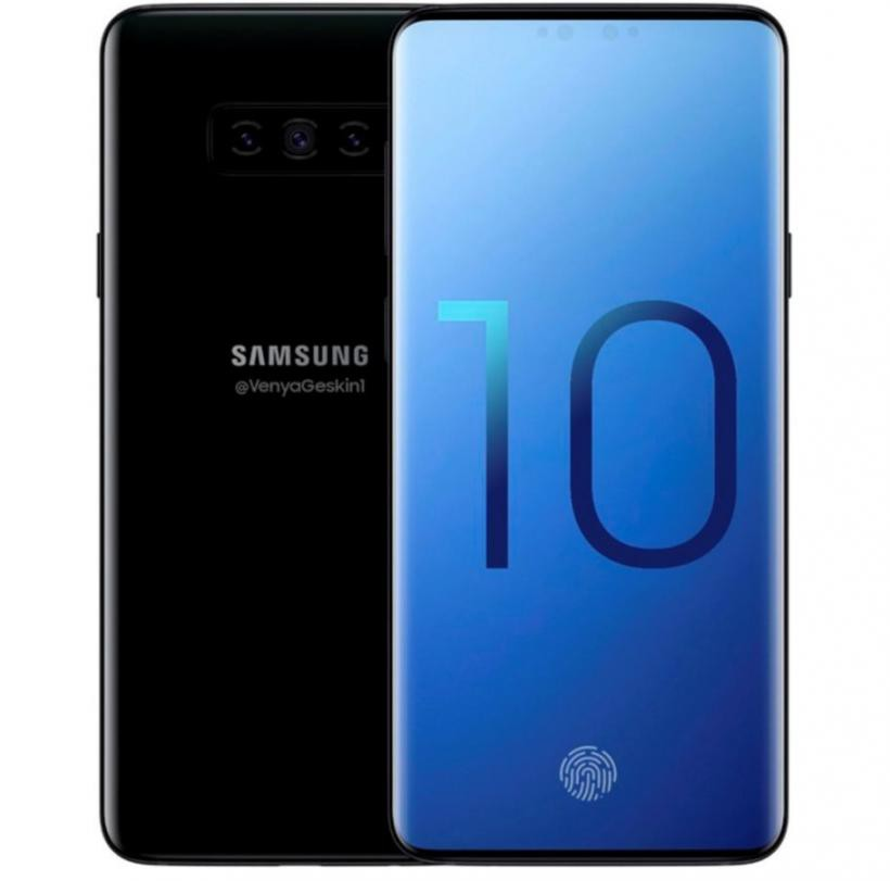 The network has a possible image of Samsung Galaxy S10