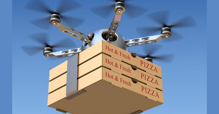 Uber plans to launch a food delivery service by drones