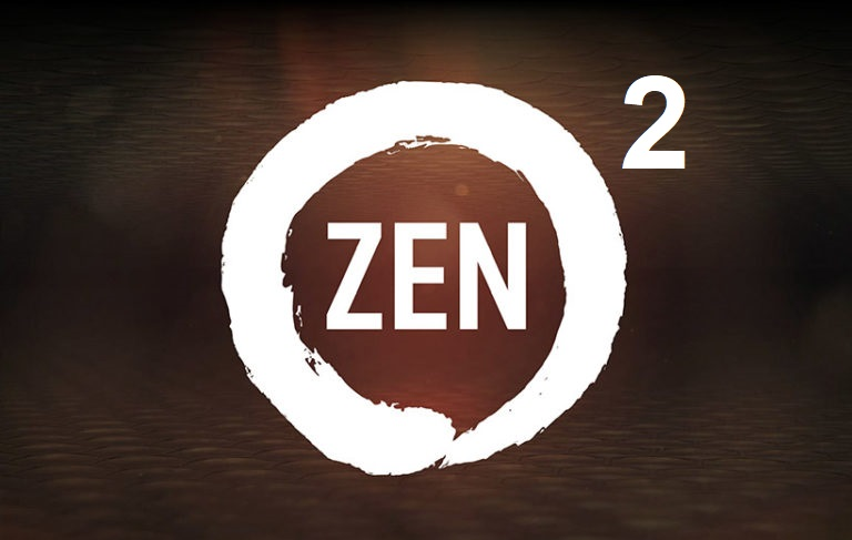 The first data about the engineering samples of the processors on the architecture of Zen 2