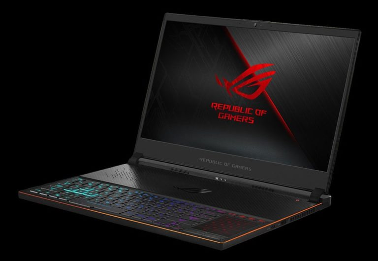 The thinnest gaming laptop from ASUS