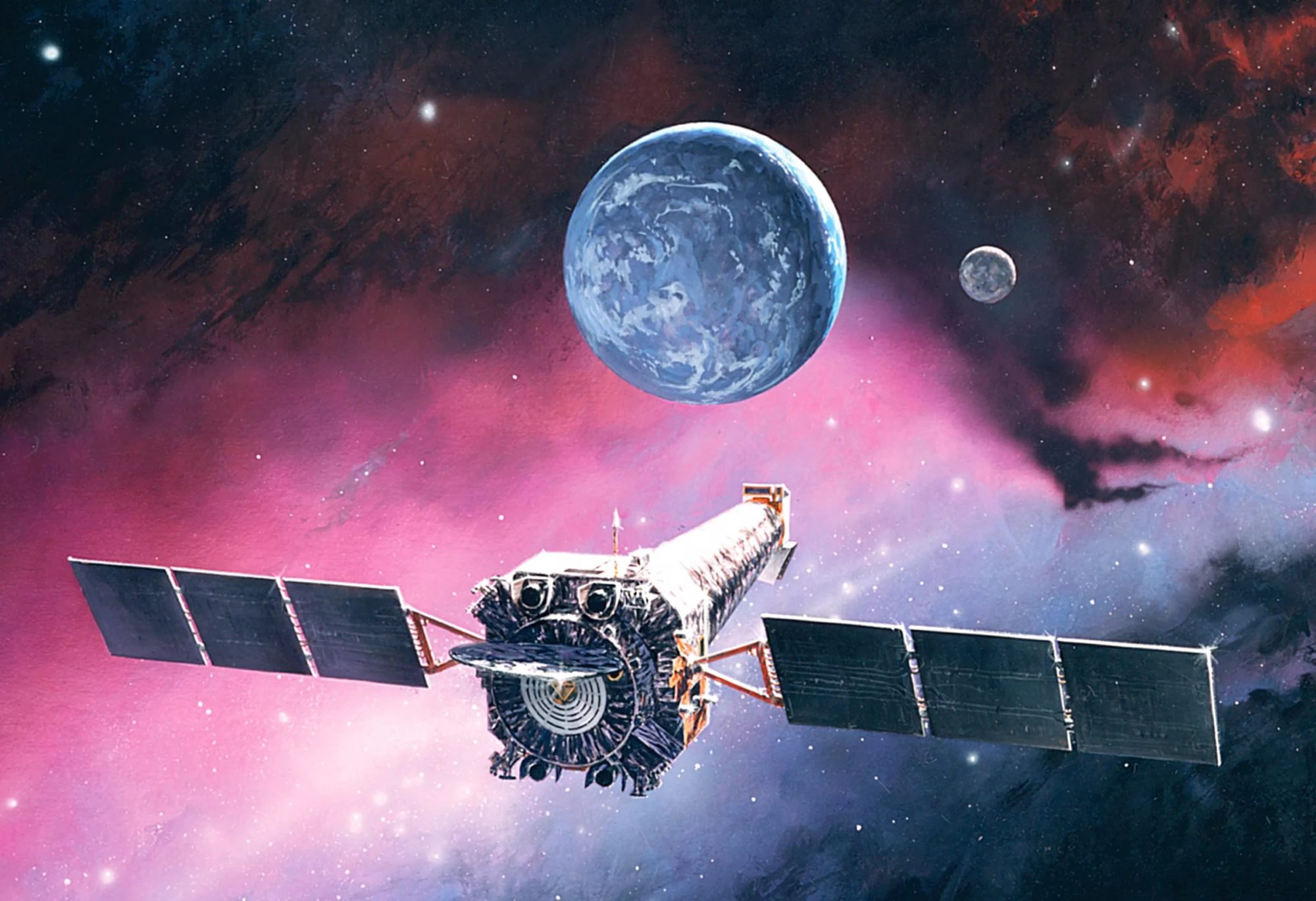 "Orbital telescope ""Chandra"" has moved into emergency mode"