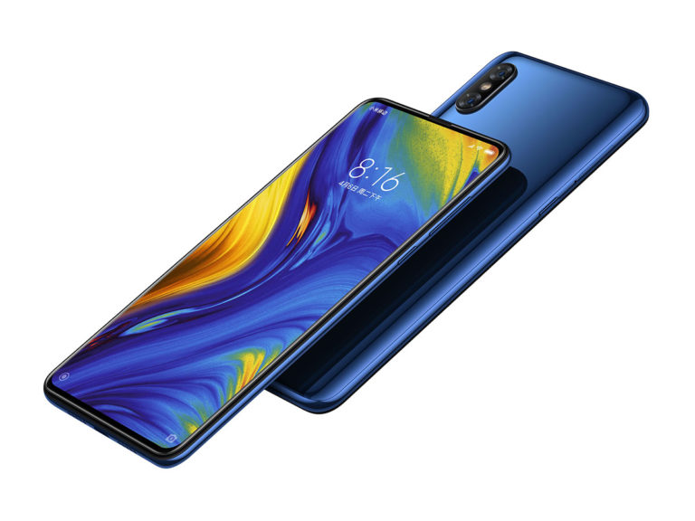 The first batch of Xiaomi Mi Mix 3 smartphones was sold out in a minute on the pre-order