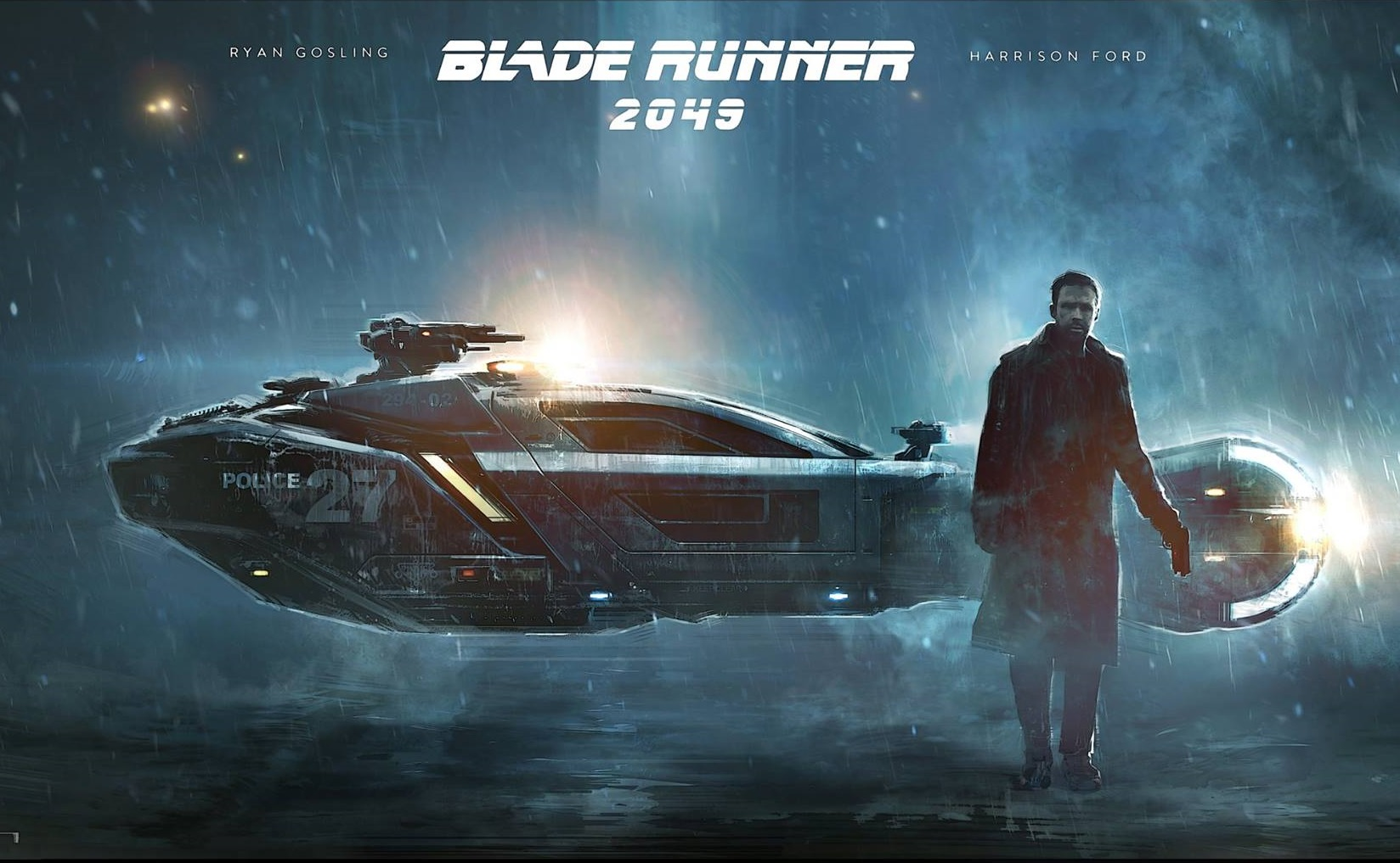 A selection of fine arts dedicated to Blade Runner 2049