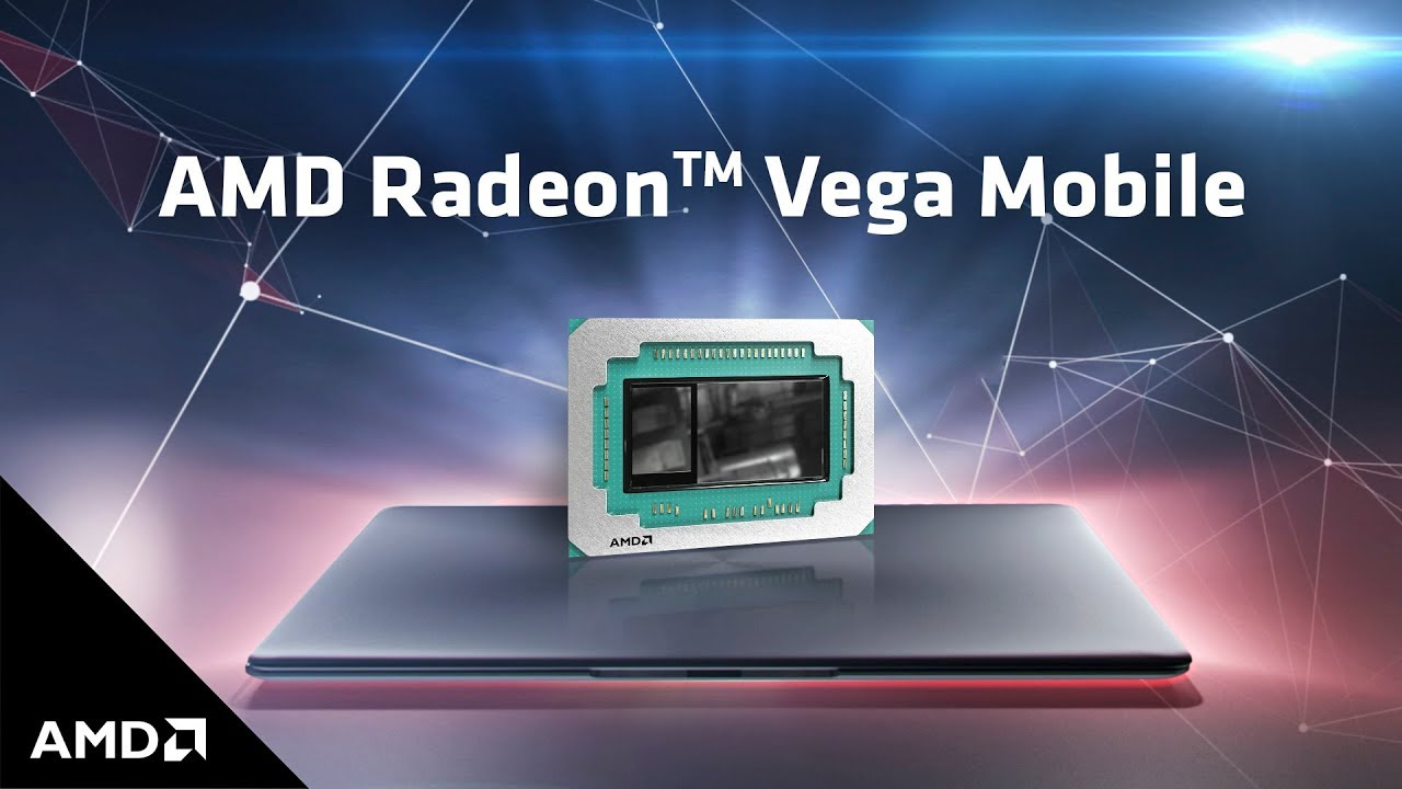 AMD released a video about the mobile GPU Radeon Vega Mobile