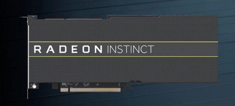 AMD presented 7-nm graphics accelerators Radeon Instinct MI60 and MI50
