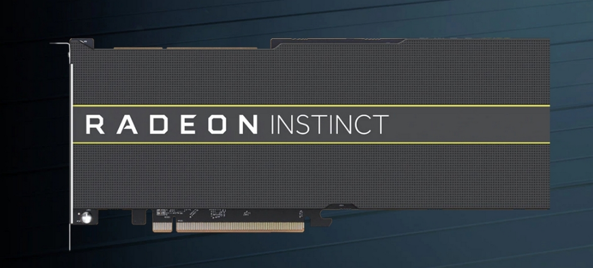 AMD presented 7-nm graphics accelerators Radeon Instinct MI60 and MI50