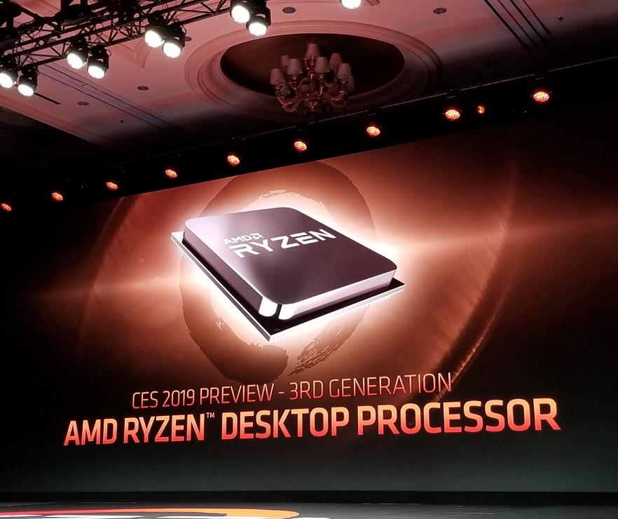 AMD показали 7нм процессоры Ryzen 3000 серии