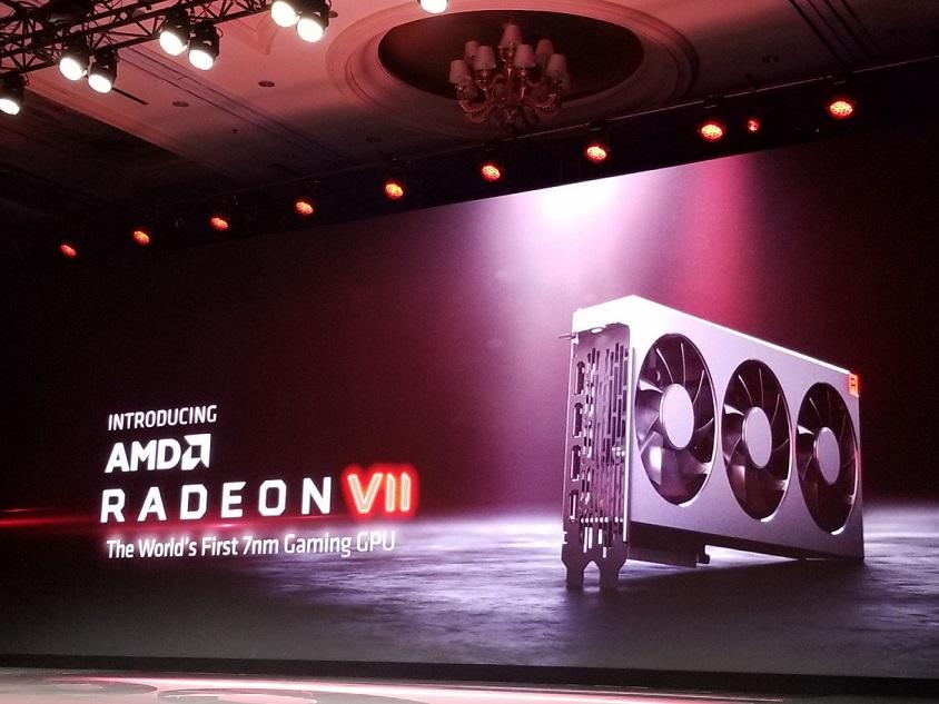 CES2019: Встречаем — AMD Radeon VII