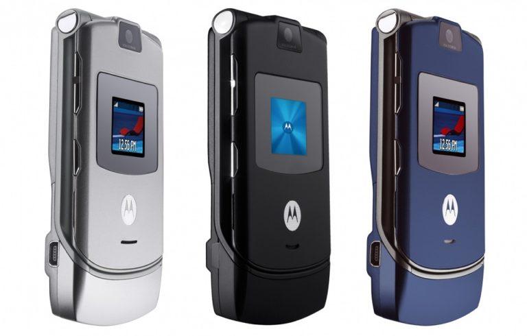 Lenovo перевыпустит Motorola Razr V3