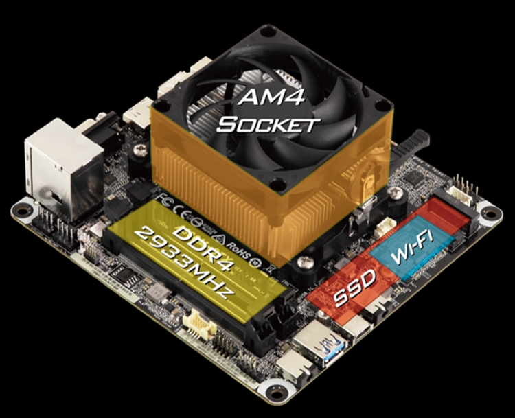 AsRock официально представила платформу на A300 для гибридных процессоров AMD