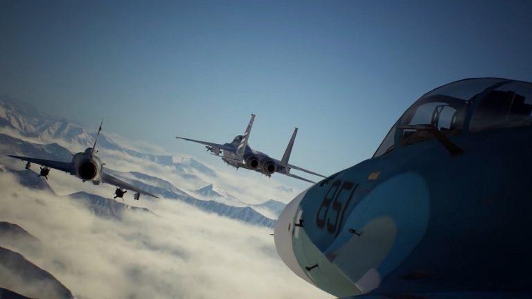 Вышел авиасимулятор Ace Combat 7