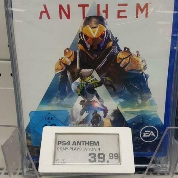 Anthem продают с большими скидками