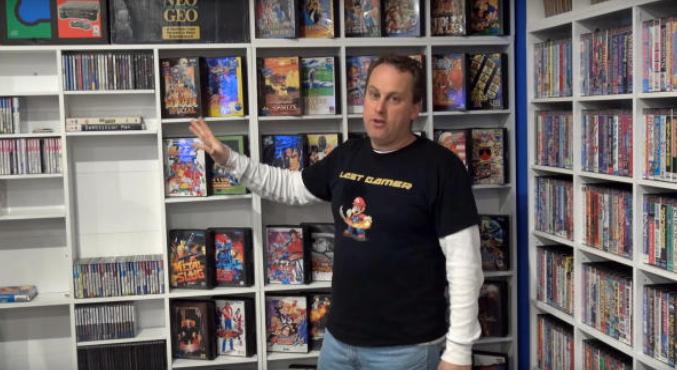 Владелец самой большой коллекции игр в мире, больше не покажет её вживую