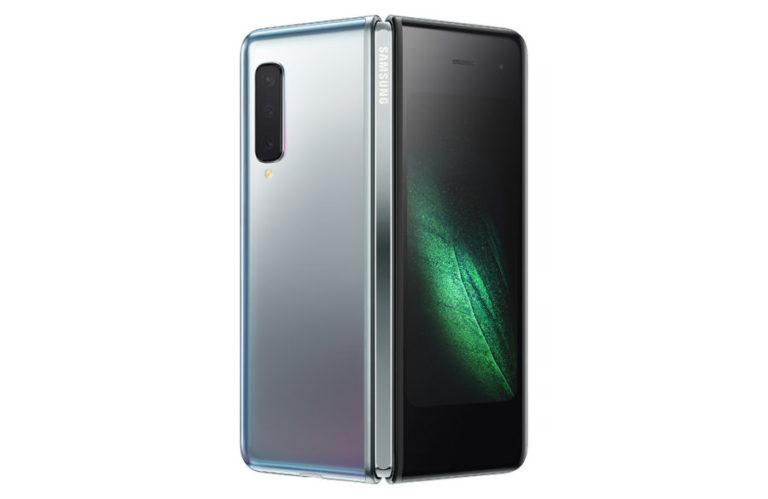 Samsung выпустила смартфон с гнущимся экраном