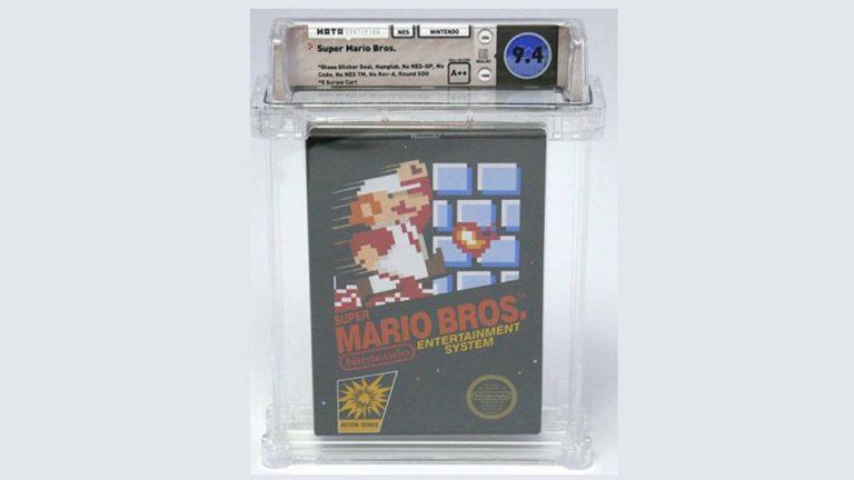 Картридж с Super Mario Brothers для NES ушёл с молотка за… 100150 долларов сша
