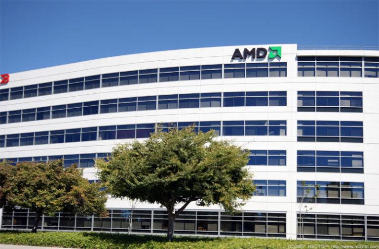 AMD отчитались за 4й квартал ростом прибыли