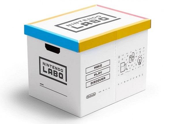 Nintendo начала продажи картонных коробок для картонного конструктора