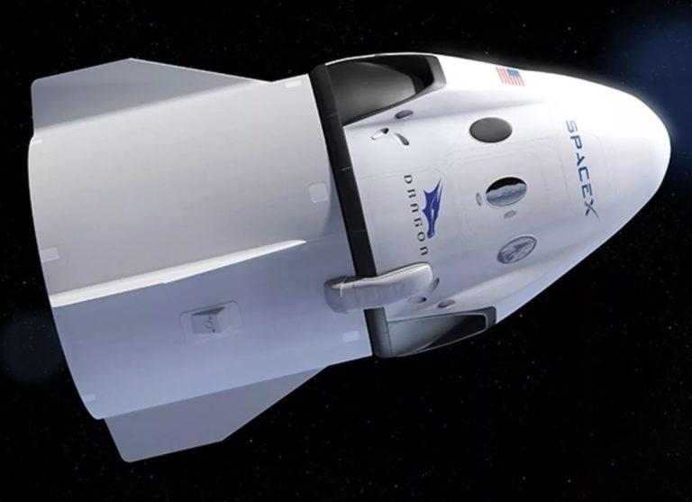 SpaceX запустила космический транспортник Dragon 2го поколения
