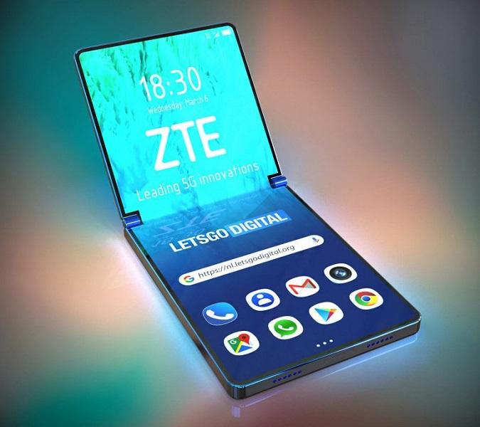 ZTE готовит новую концепцию раскладушки