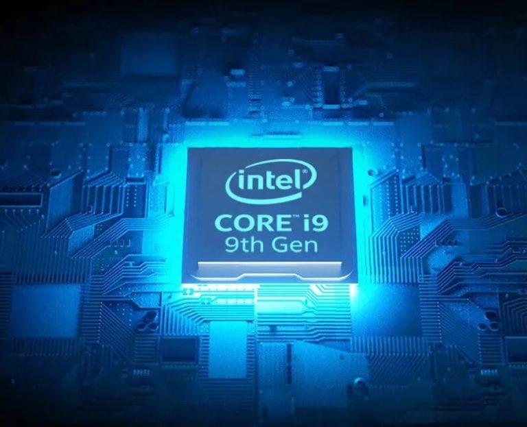Обнародован список мобильных процессоров Intel 9го поколения