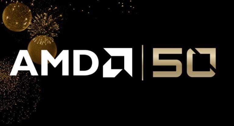 Вышли ограниченные серии Ryzen 7 2700X и Radeon VII в честь полувекового юбилея AMD