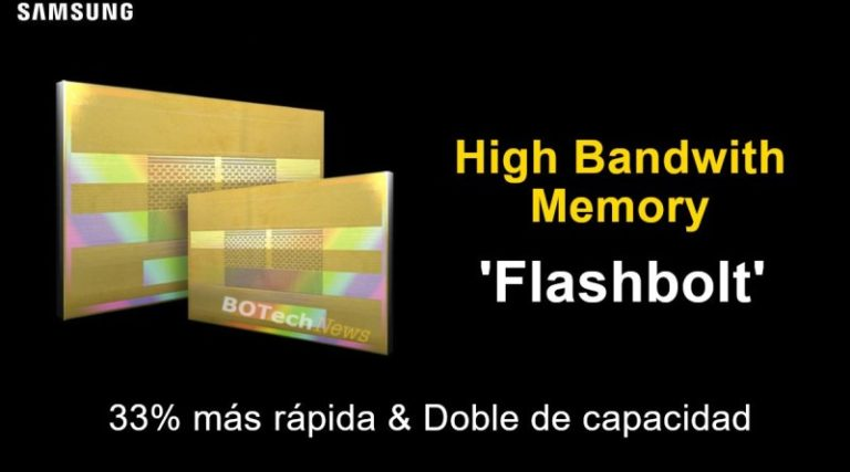 Samsung заявила о завершение разработки памяти HBM2 следующего поколения