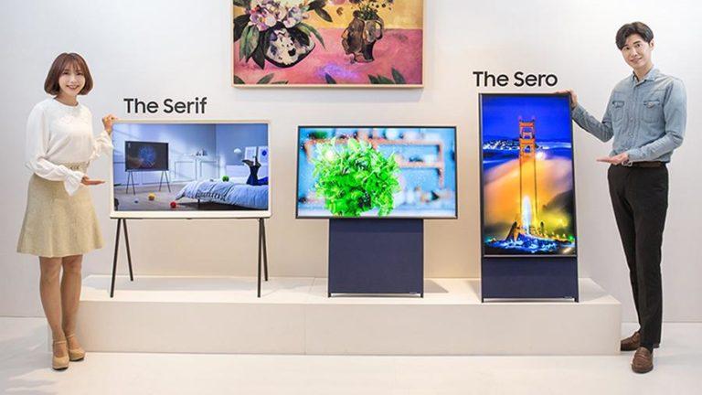 Samsung представила вертикальный телевизор ориентированный на соцсети