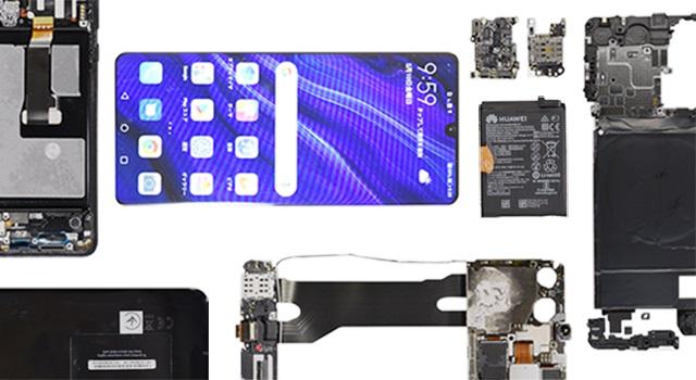 Журналисты издания Nikkei проверили компонентную базу Huawei P30 Pro на комплектующие из США