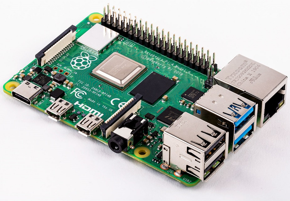 Вышел мини-пк Raspberry Pi4