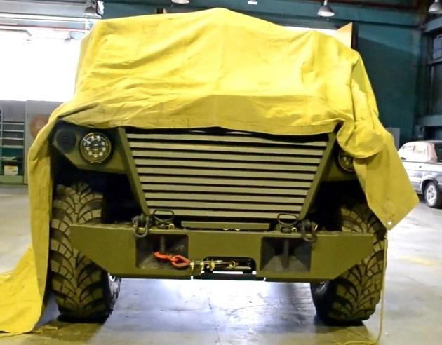 ГАЗ приоткрывает занавес к обновлённому бронеавтомобилю Тигр NEXT