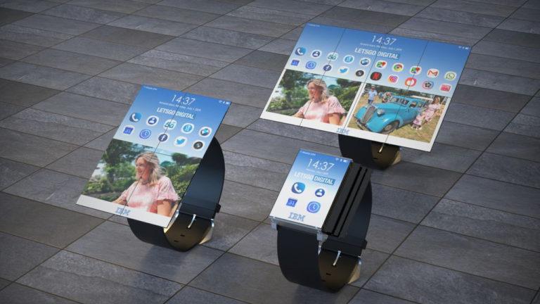 IBM запатентовала гибрид часов и планшета