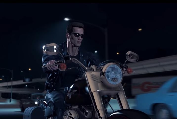 Россиянин воссоздал фильм Терминатор 2 на движке GTA 5