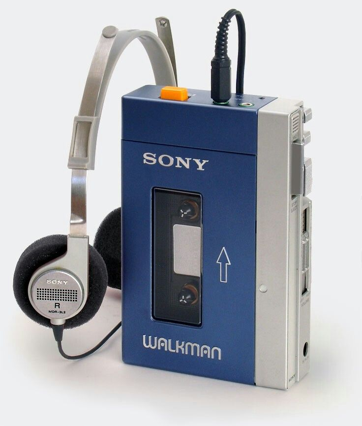 Плеерам Sony Walkman исполнилось 40 лет